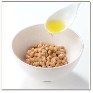 納豆にオリーブジュース100%オイル<キヨエ>