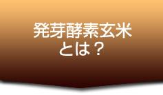 発芽酵素玄米とは?