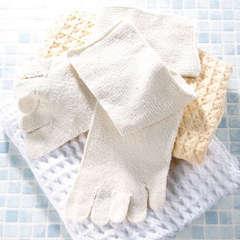 天然シルク 健康五本指靴下