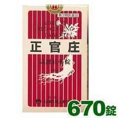 高麗紅参錠[670錠](正官庄)