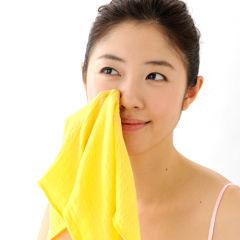 黄金ガーゼ 洗顔用 10枚セット